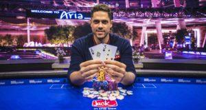 Benjamin Pollak campeão do Evento #6 do US Poker Open (Imagem: Poker Central)