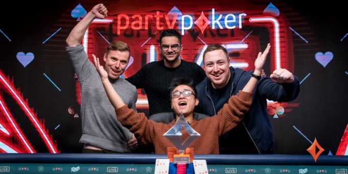 Chi Zhang campeão do Super High Roller de € 51.000 do partypoker Millions Germany