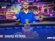 David Peters campeão do Evento #7 do US Poker Open (Foto: PokerCentral)