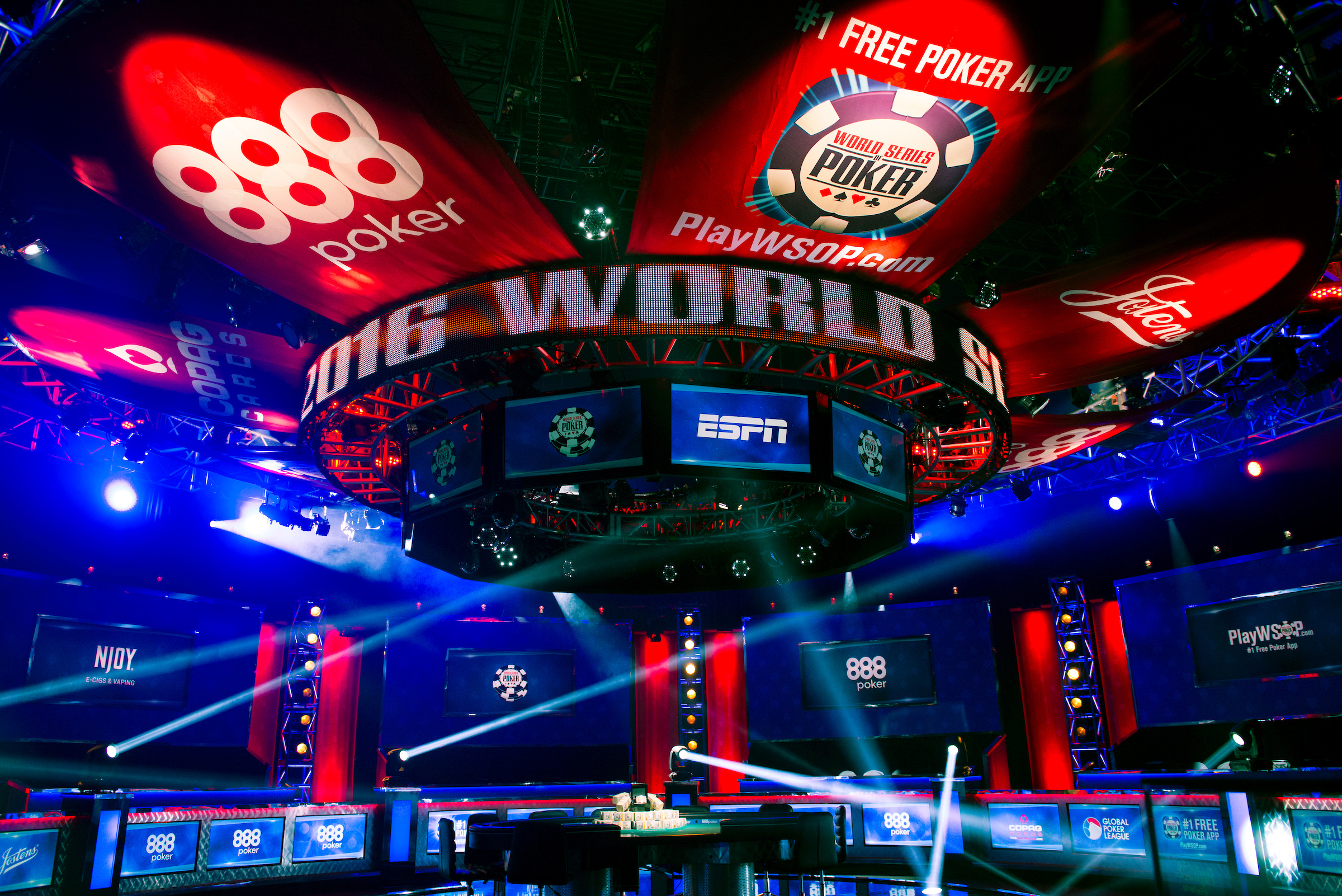 World series of poker rules 2018 how to apply felt to poker table