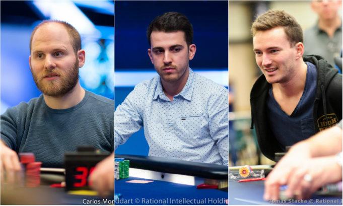 Sam Greenwood, Koray Aldemir e Steffen Sontheimer