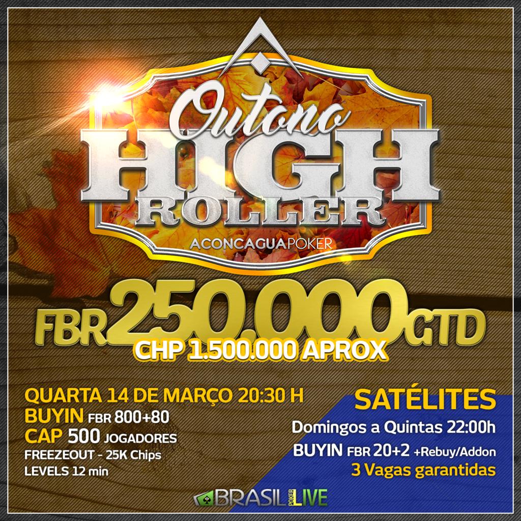 Outono High Roller - Brasil Poker Live