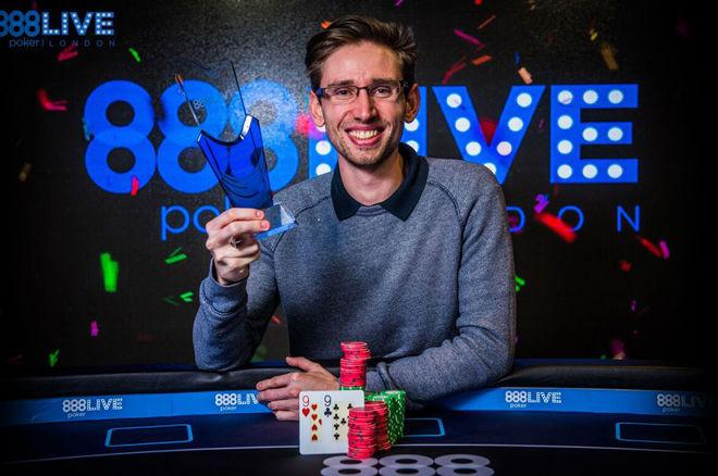 Jonathan Bowers campeão do 888poker LIVE Londres Kickoff