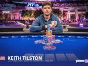 Keith Tilston campeão do Main Event do US Poker Open (Foto: PokerCentral)
