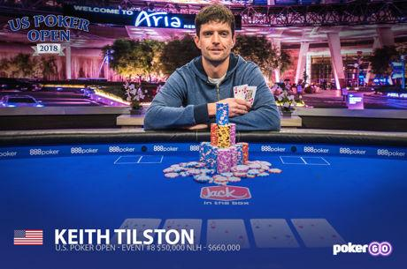 Keith Tilston campeão do Main Event do US Poker Open (Foto: PokerCentral)