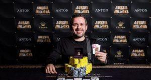 Kenny Hallaert campeão do Evento #23 do Aussie Millions