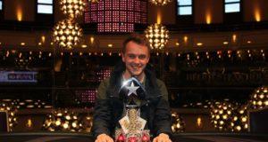 Peter Brankin campeão do Main Event do London Megastack