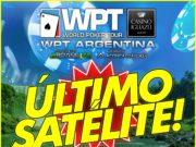 Satélite WPT Argentina no Brasil Poker Live