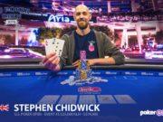 Stephen Chidwick campeão do Evento #3 do US Poker Open