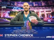 Stephen Chidwick campeão do Evento #4 Mixed Games do US Poker Open
