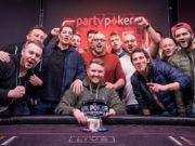 Steven Morris campeão do Super High Roller de £ 5.300 do partypoker UK Poker Championship