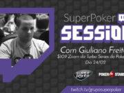 SuperPoker Session com Giuliano Freitas