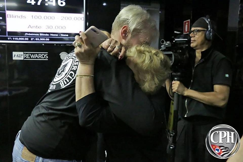 Anthony Barranqueiros e sua avó Lídia - 1º CPH