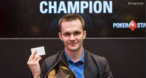 Mikita Badziakouski - Campeão High Roller Macau Poker Cup
