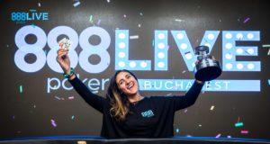 Ana Marquez campeã do High Roller do 888poker LIVE Bucareste