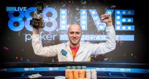 Andrei Racolta vence o Main Event do 888poker LIVE Bucareste