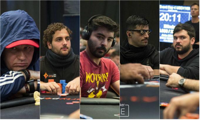 Amauri Grutka, João Simão, Bruno Kawauti, Lucas Scafini e Marcello Azevedo