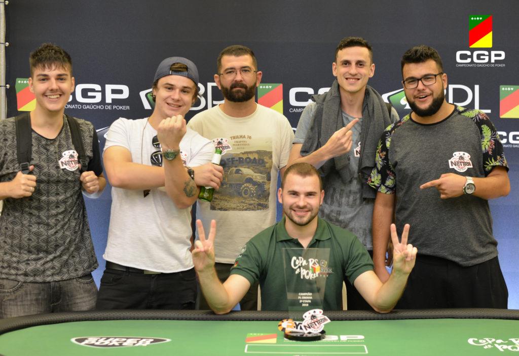 Renan Bruschi - Campeão PLO Copa RS de Poker