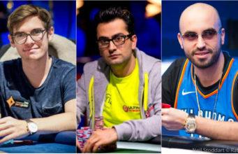 Fedor Holz, Antonio Esfandiari e Bryn Kenney