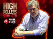 Luciano Garcia campeão do Evento #3 da série de High Rollers do PokerStars
