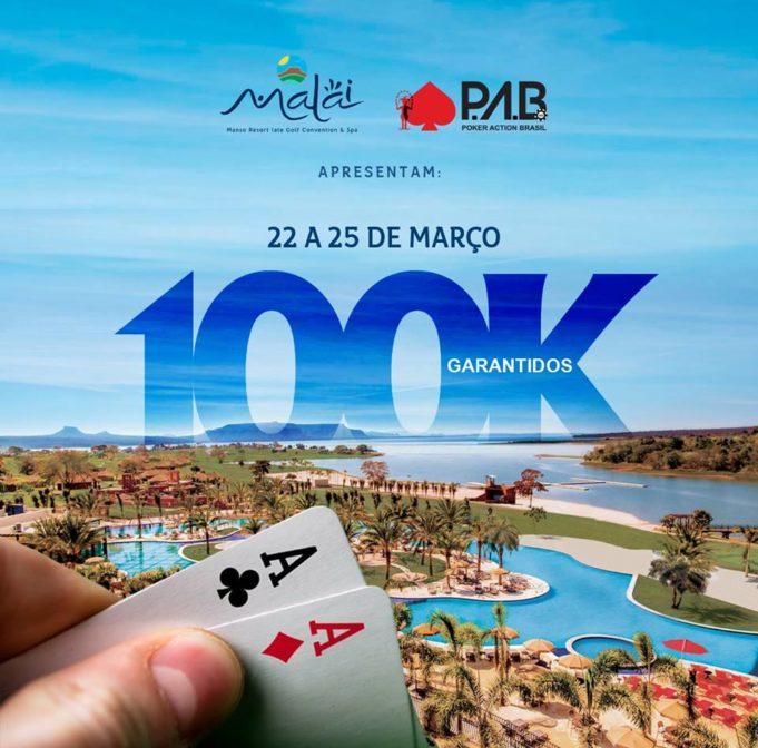 Torneio 100K garantidos e pacote para o BSOP Brasília