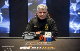 Osvaldo Naves campeão do High Roller do LAPC