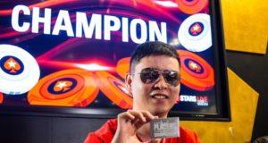 Shuize Cai campeão do National Championship do APPT Macau