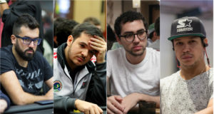 Victor Sbrissa, Will Arruda, Rafael Moraes e Felipe Mojave