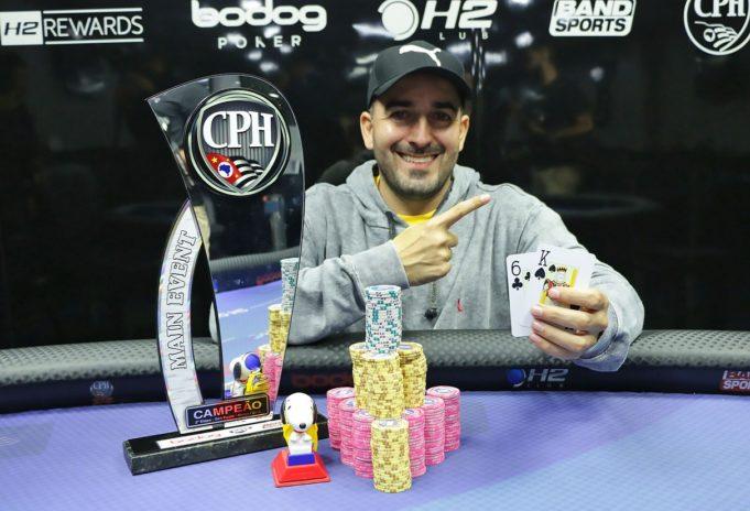 Rodrigo Souza - Campeão Main Event 2º CPH 2018
