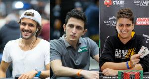 Yuri Martins, Ramon Sfalsin e Wagner Petry