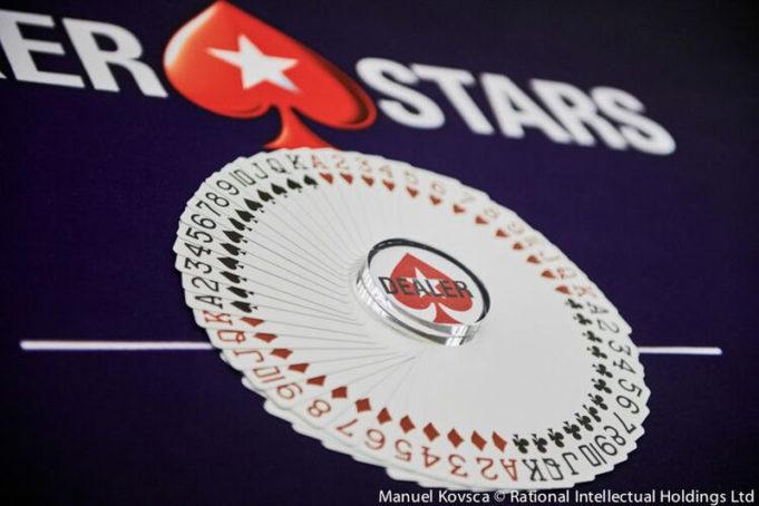 Botão de dealer - PokerStars
