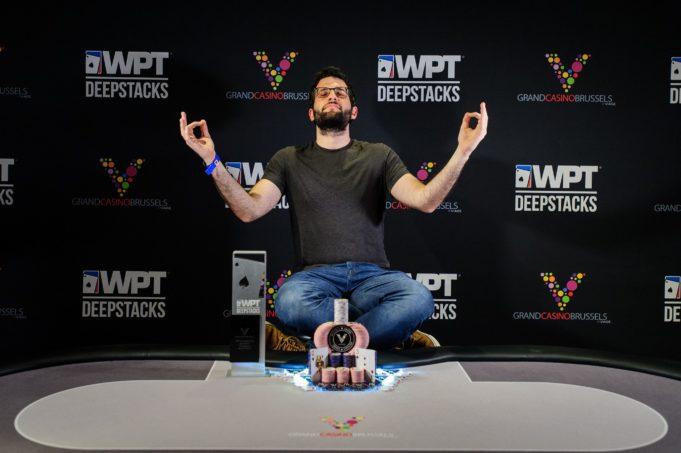 Ioannis Angelou-Konstas - Campeão WPT DeepStacks Bruxelas