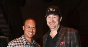 Tiger Woods e Phil Hellmuth