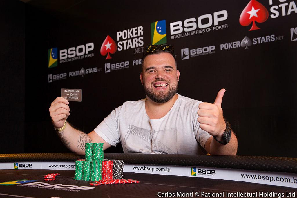 Pedro Padilha - Campeão Freeroll Diamond - BSOP Brasília