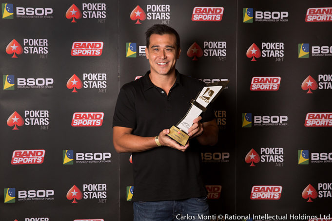 Marcelo Takahashi - Campeão High Roller BSOP Brasília