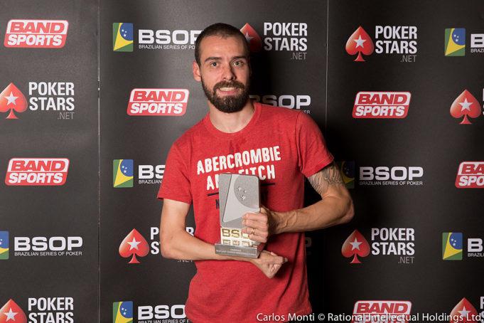 Vinícius Silva - Campeão Last Chance Deepstack - BSOP Brasília