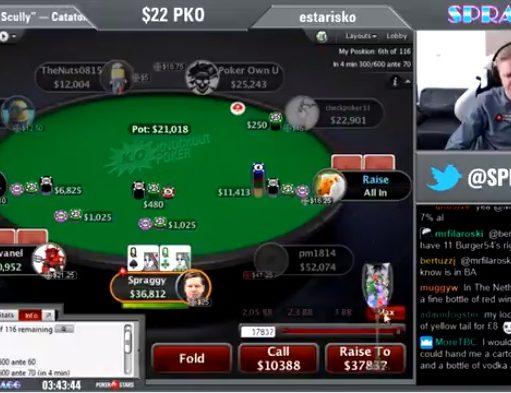 Ben Spragg - PokerStars Team Online