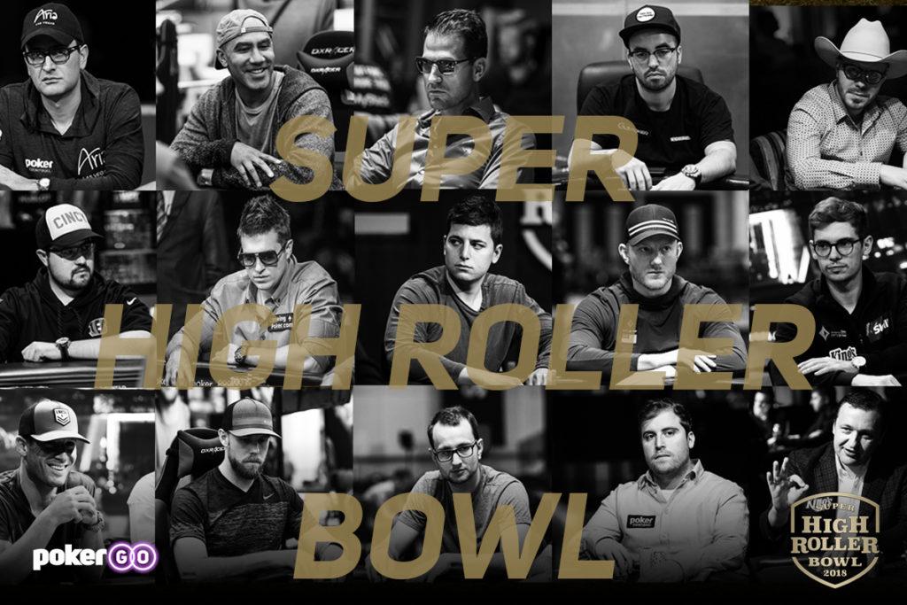 Convidados Super High Roller Bowl