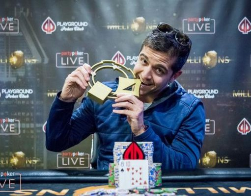 Karim-Olivier Kamal campeão do torneio Open do partypoker Millions North America