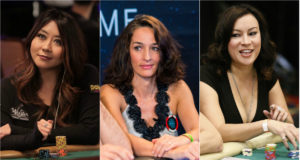 Maria Ho, Kara Scott e Jennifer Tilly