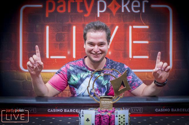Matan Bakrat campeão do torneio Warm-Up do partypoker Millions Grand Final Barcelona