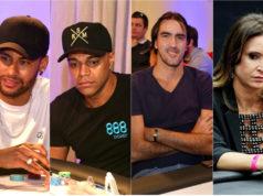 Neymar, Denílson, Rodrigão e Maurren Maggi no Ducati High Roller
