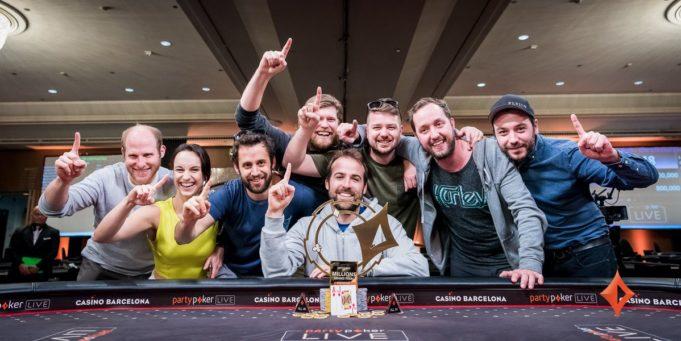 Pascal Lefrancois campeão do Main Event do partypoker Millions Grand Final Barcelona
