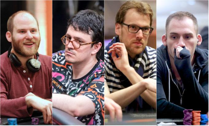 Sam Greenwood, Isaac Haxton, Christoph Vogelsang e Justin Bonomo