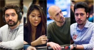 Timothy Adams, Maria Ho, Stephen Chidwick e Adrian Mateos
