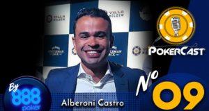 """Pokercast by 888poker - Alberoni """"Bill"""" Castro"""