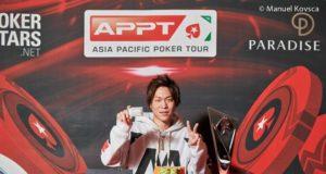 Yuki Ko campeão do National Championship e do High Roller One Day do APPT Coréia do Sul