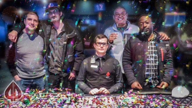 Ganhadores do bad beat jackpot - Playground Poker Club