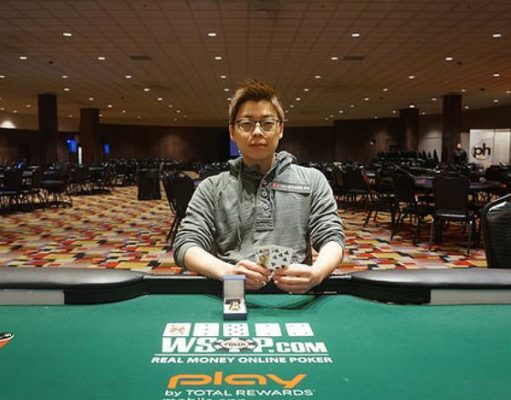 Joseph Cheong - Campeão High Roller WSOP Circuit Planet Hollywood