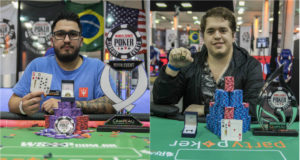 Andrew Zeus e Ezequiel Waigel - WSOP Brazil